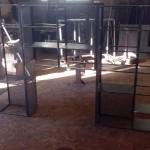 mobilier étagere métal ferronnerie durand hyeres var