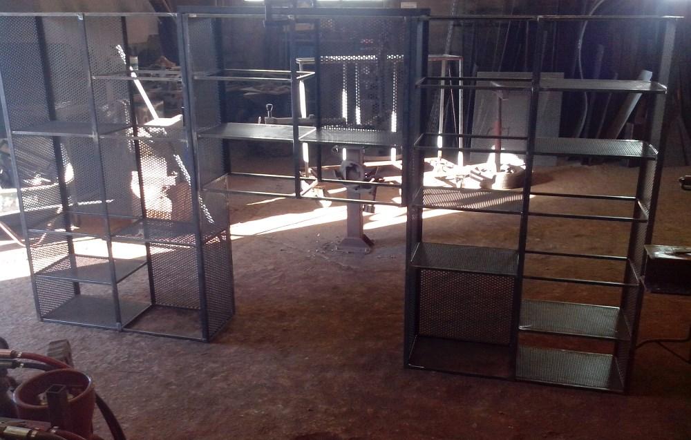 mobilier-étagere-métal-ferronnerie-durand-hyeres-var