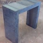 mobilier métal desserte ferronnerie durand hyeres var