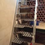 echelle meunière aluminium par ferronnerie durand à Hyères Var