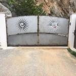 portail fer forgé par ferronnerie durand à Hyères