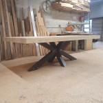 pied table metal par ferronnerie durand à Hyères Var